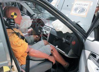 Подушка безопасности пассажира Приора