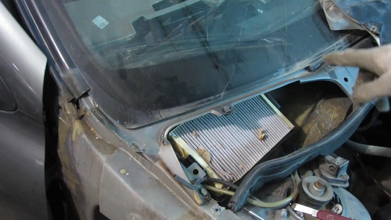 салонный фильтр лада калина