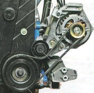 замена генератора на 16-ти клапанной Гранте